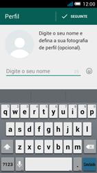 Alcatel POP C7 - Aplicações - Como configurar o WhatsApp -  9
