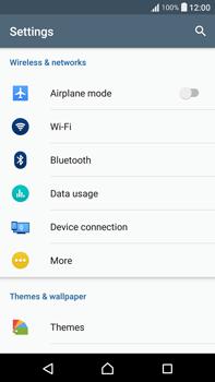 Sony F3211 Xperia XA Ultra - WiFi and Bluetooth - Manual configuration - Step 4