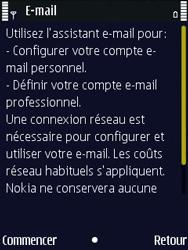 Nokia N86 - E-mail - Configuration manuelle - Étape 6