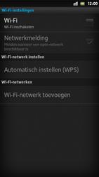 Sony LT26i Xperia S - Wifi - handmatig instellen - Stap 6