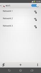 Sony D2303 Xperia M2 - WiFi - Verbinden met een netwerk - Stap 6