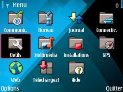 Nokia E71 - Internet - configuration manuelle - Étape 4