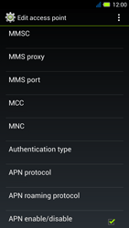 Acer Liquid E3 - MMS - Manual configuration - Step 14