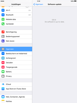 Apple iPad mini 3 met iOS 9 (Model A1600) - Software updaten - Update installeren - Stap 4