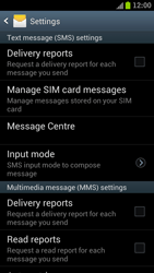 Samsung I9300 Galaxy S III - SMS - Manual configuration - Step 4