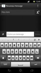Sony LT30p Xperia T - MMS - envoi d'images - Étape 7
