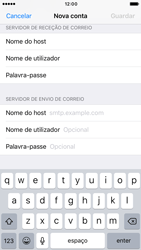 Apple iPhone 6 iOS 10 - Email - Configurar a conta de Email -  14