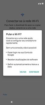 Motorola One Vision - Primeiros passos - Como ativar seu aparelho - Etapa 9