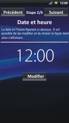 Sony Ericsson Xpéria Arc - Premiers pas - Créer un compte - Étape 4