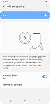 Samsung galaxy-s9-plus-sm-g965f-android-pie - NFC - NFC activeren - Stap 7