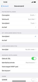 Apple iPhone XS Max - E-mail - e-mail instellen: IMAP (aanbevolen) - Stap 24