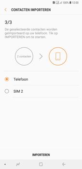 Samsung galaxy-a7-dual-sim-sm-a750fn - Contacten en data - Contacten kopiëren van SIM naar toestel - Stap 13