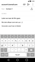 LG G5 - E-mail - hoe te versturen - Stap 11