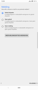 Sony xperia-10-plus-I4123 - E-mail - Account instellen (IMAP met SMTP-verificatie) - Stap 21