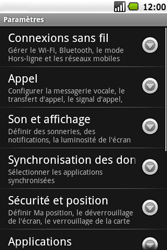 Samsung I5700 Galaxy Spica - MMS - Configuration manuelle - Étape 4