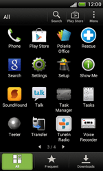 HTC T328e Desire X - Network - Usage across the border - Step 3
