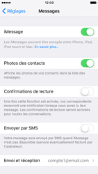 Apple iPhone 7 - iOS features - Envoyer un iMessage - Étape 5