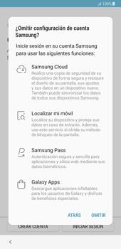 Samsung Galaxy Note 8 - Primeros pasos - Activar el equipo - Paso 17