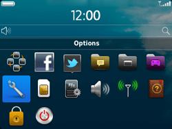 BlackBerry 9320 - Aller plus loin - Restaurer les paramètres d'usines - Étape 3
