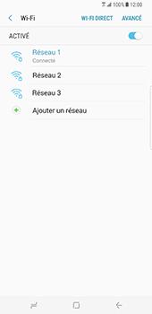 Samsung Galaxy S8 Plus - Wi-Fi - Accéder au réseau Wi-Fi - Étape 9