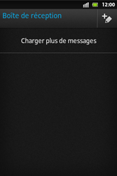 Sony ST27i Xperia Go - E-mail - Configuration manuelle - Étape 4