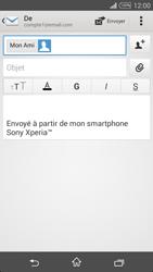 Sony Xpéria T3 - E-mails - Envoyer un e-mail - Étape 8