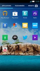 Bouygues Telecom Ultym 4 - Contact, Appels, SMS/MMS - Envoyer un SMS - Étape 3