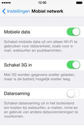 Apple iPhone 4 S iOS 7 - Netwerk - Wijzig netwerkmodus - Stap 4