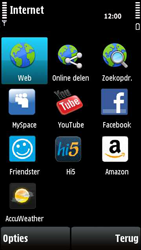 Nokia X6-00 - Internet - hoe te internetten - Stap 3