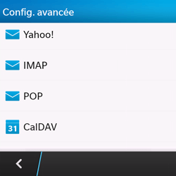 BlackBerry Q10 - E-mail - Configuration manuelle - Étape 7