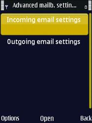 Nokia N86 - E-mail - Manual configuration - Step 21