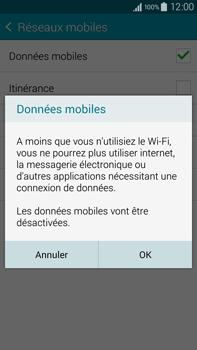 Samsung Galaxy Note 4 - Internet et connexion - Désactiver la connexion Internet - Étape 7