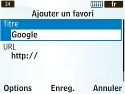 Samsung S3350 Chat 335 - Internet - Navigation sur internet - Étape 7