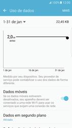 Samsung Galaxy S7 Edge - Rede móvel - Como ativar e desativar uma rede de dados - Etapa 5