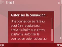 Nokia E63 - E-mail - Configuration manuelle - Étape 9