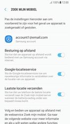 Samsung Galaxy A5 (2017) - Android Nougat - Beveiliging en privacy - zoek mijn mobiel activeren - Stap 9