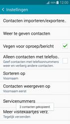 Samsung A500FU Galaxy A5 - Contacten en data - Contacten kopiëren van toestel naar SIM - Stap 12