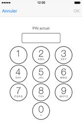 Apple iPhone 4S - Sécuriser votre mobile - Personnaliser le code PIN de votre carte SIM - Étape 6