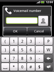 HTC A510e Wildfire S - Voicemail - Manual configuration - Step 6