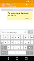 LG K4 - Contact, Appels, SMS/MMS - Envoyer un SMS - Étape 10