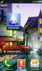 Samsung S8530 Wave II - E-mail - e-mail instellen: POP3 - Stap 1