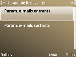 Nokia E72 - E-mail - Configuration manuelle - Étape 22