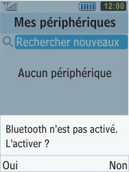Samsung S5610 Primo - Bluetooth - connexion Bluetooth - Étape 8