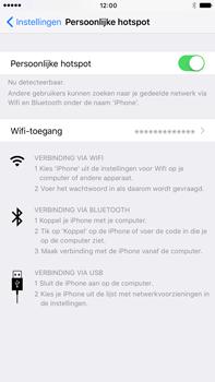 Apple iPhone 7 Plus (Model A1784) - WiFi - Mobiele hotspot instellen - Stap 8