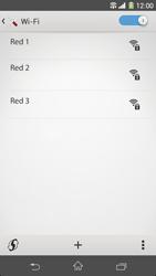 Sony Xperia Z1 - WiFi - Conectarse a una red WiFi - Paso 6