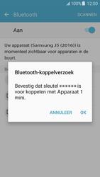 Samsung Galaxy J5 (2016) - Bluetooth - koppelen met ander apparaat - Stap 9