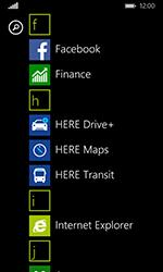 Nokia Lumia 635 - Internet et connexion - Naviguer sur internet - Étape 3
