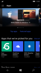 Microsoft Lumia 650 - Applications - Download apps - Step 8
