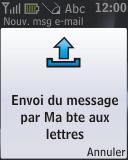 Nokia 2330 classic - E-mail - envoyer un e-mail - Étape 14