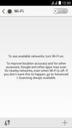 Huawei Ascend Y625 - Wi-Fi - Connect to a Wi-Fi network - Step 4